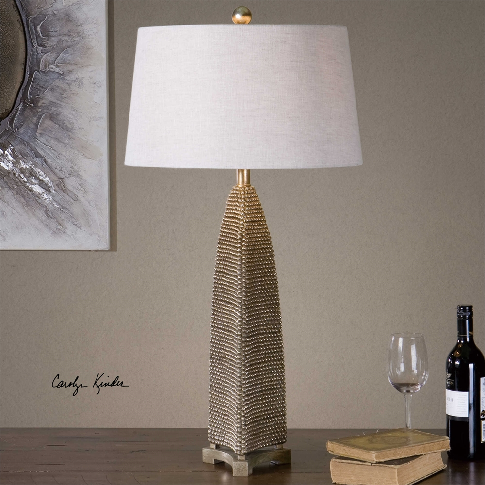 Kinder Beaded Lamp