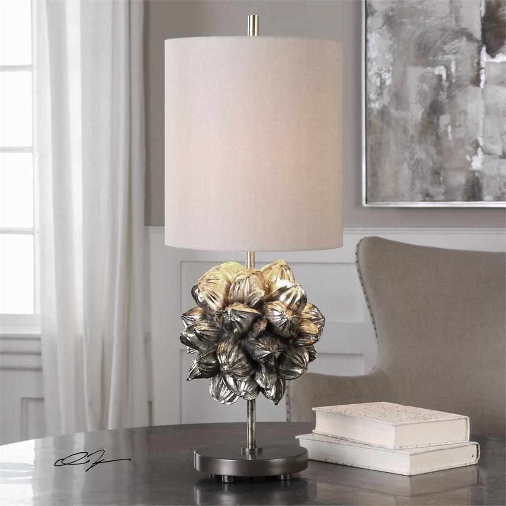 Nipa Palm Lamp