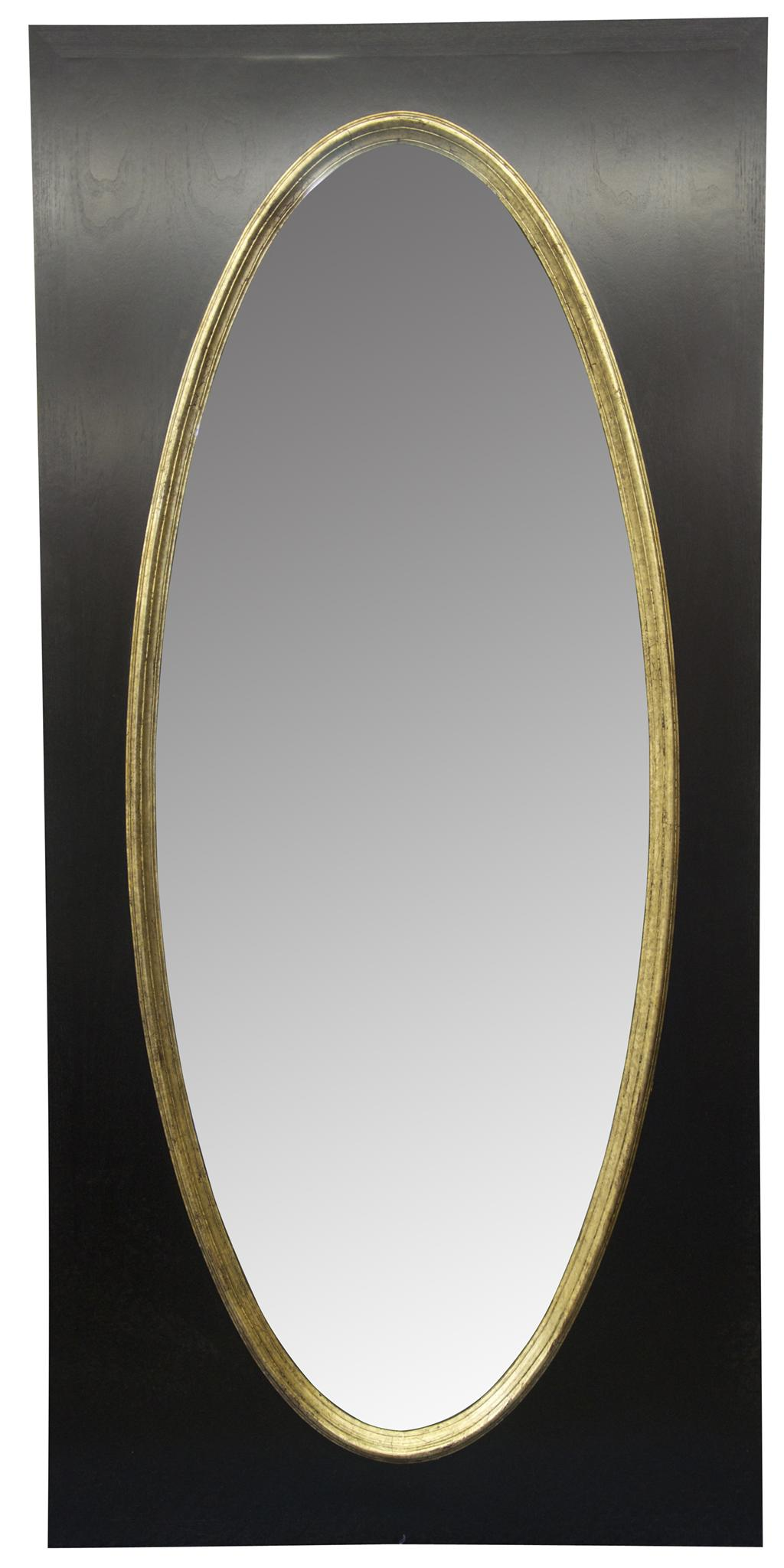 Golden Egg Floor Mirror