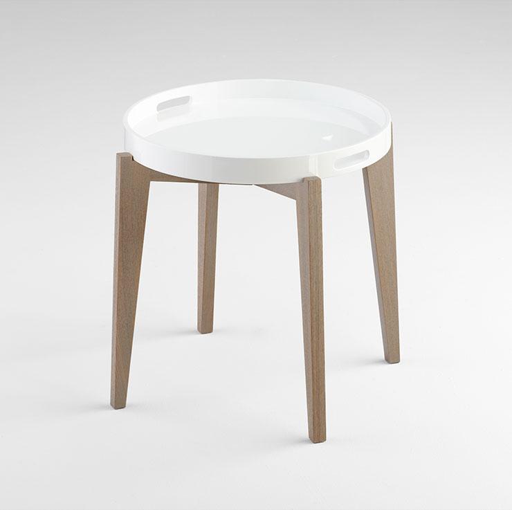 Van Dyke Round Side Table