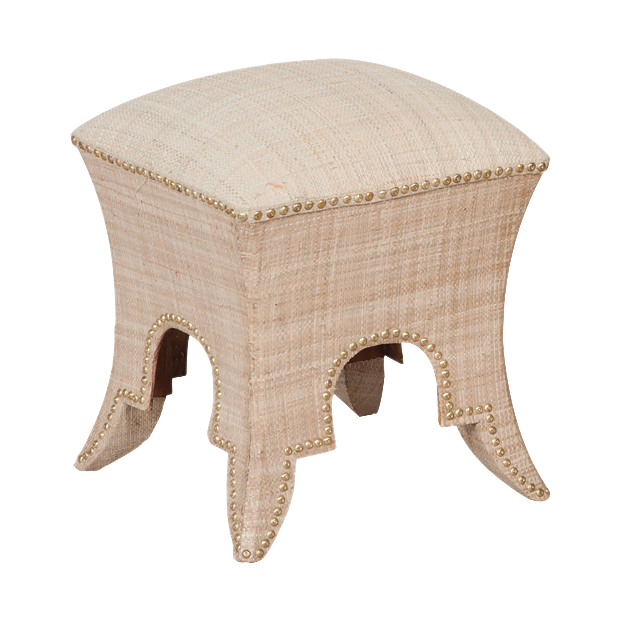 Natural Ottoman/Stool