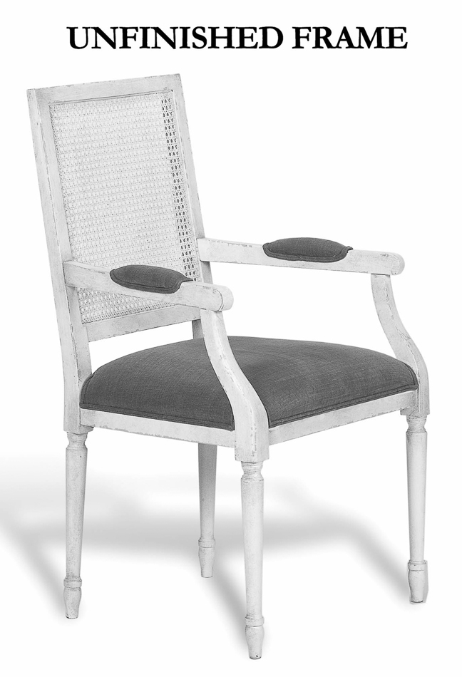 Adams Caneback Arm Chair