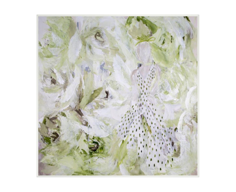 """""""Girl in a Garden""""-$530.00"""