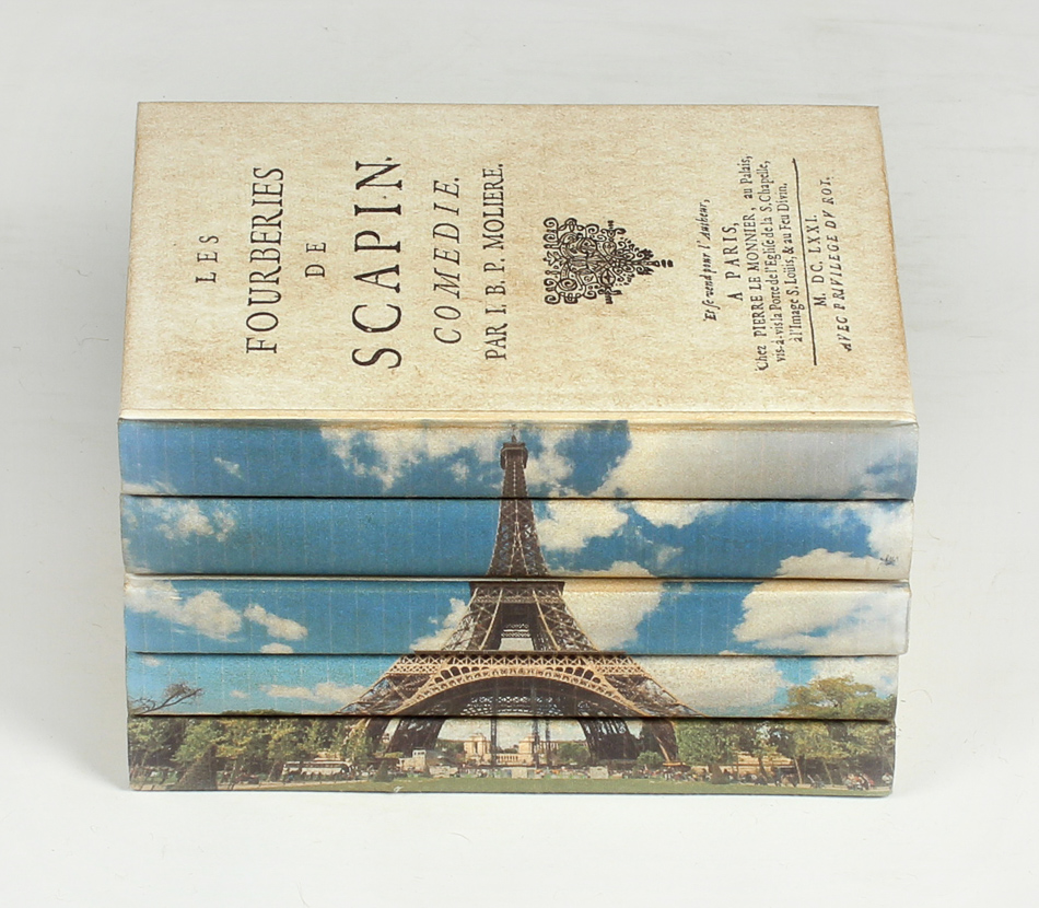Eiffel Tower Books