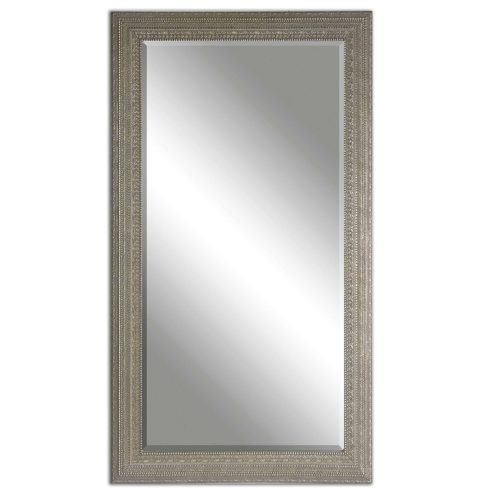 Antiqued Silver Mirror