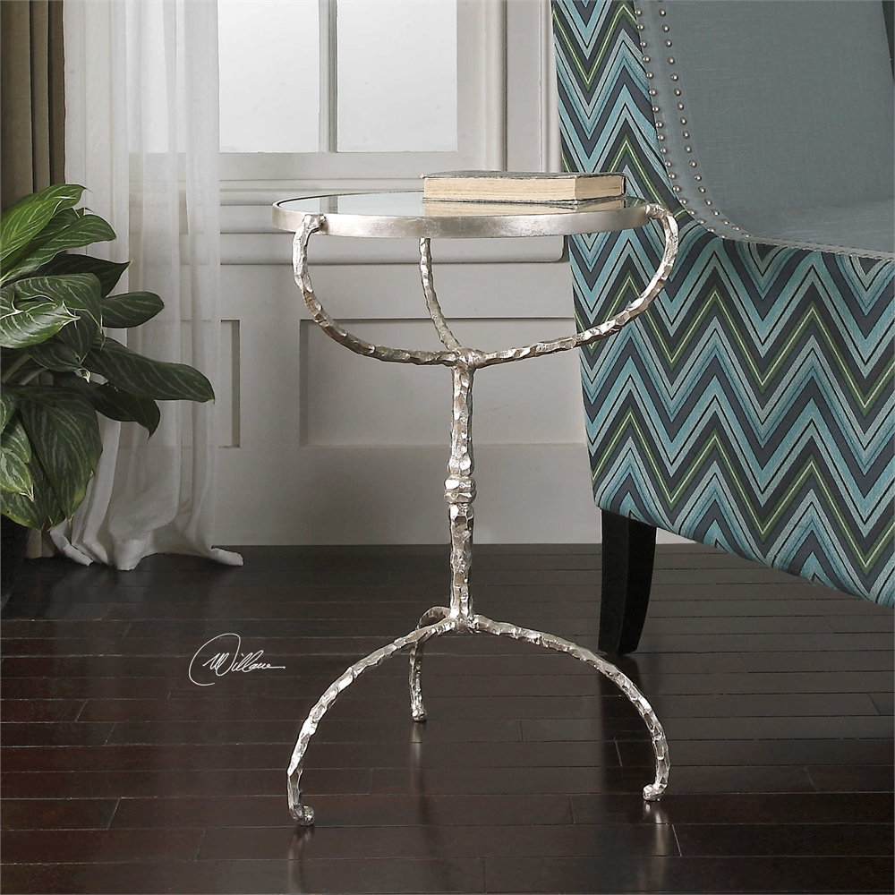 Silver Leaf Accent Table-$558.00