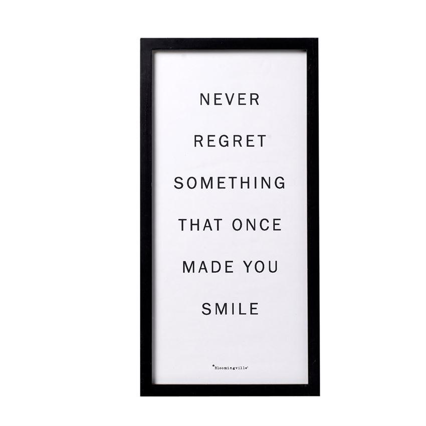 """Never Regret…"