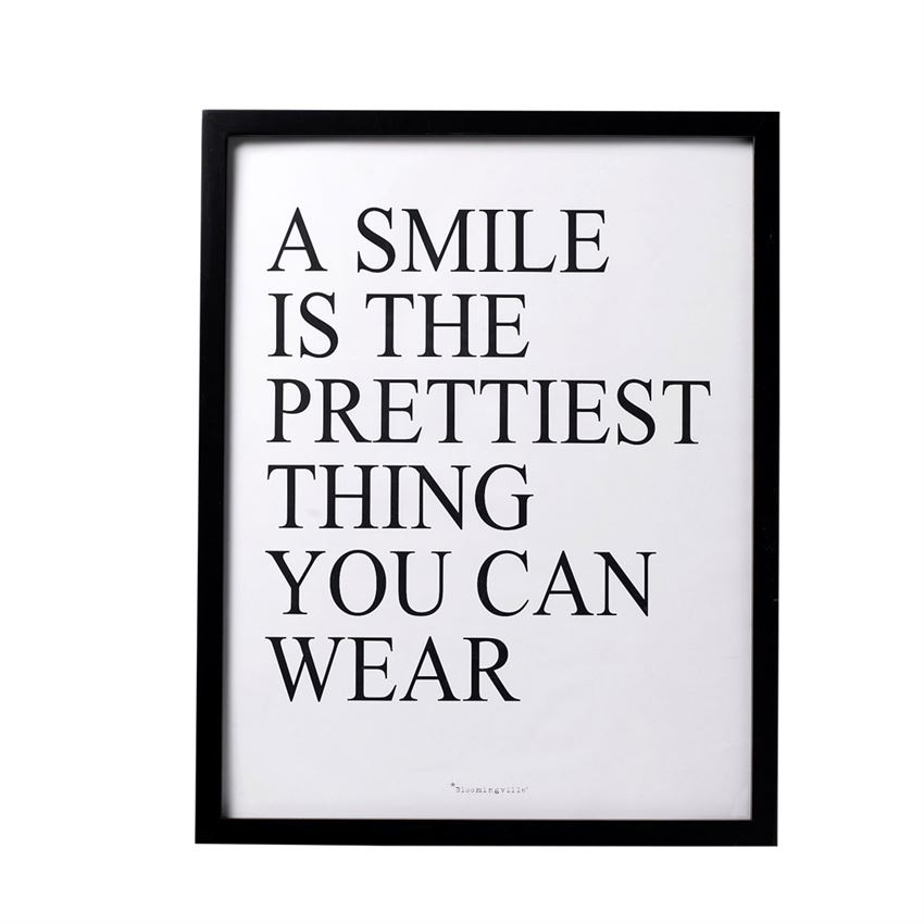 """A Smile Is…"