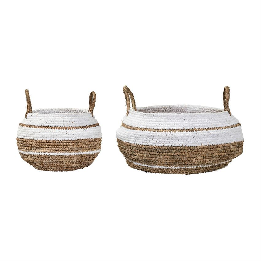 Raffia Baskets