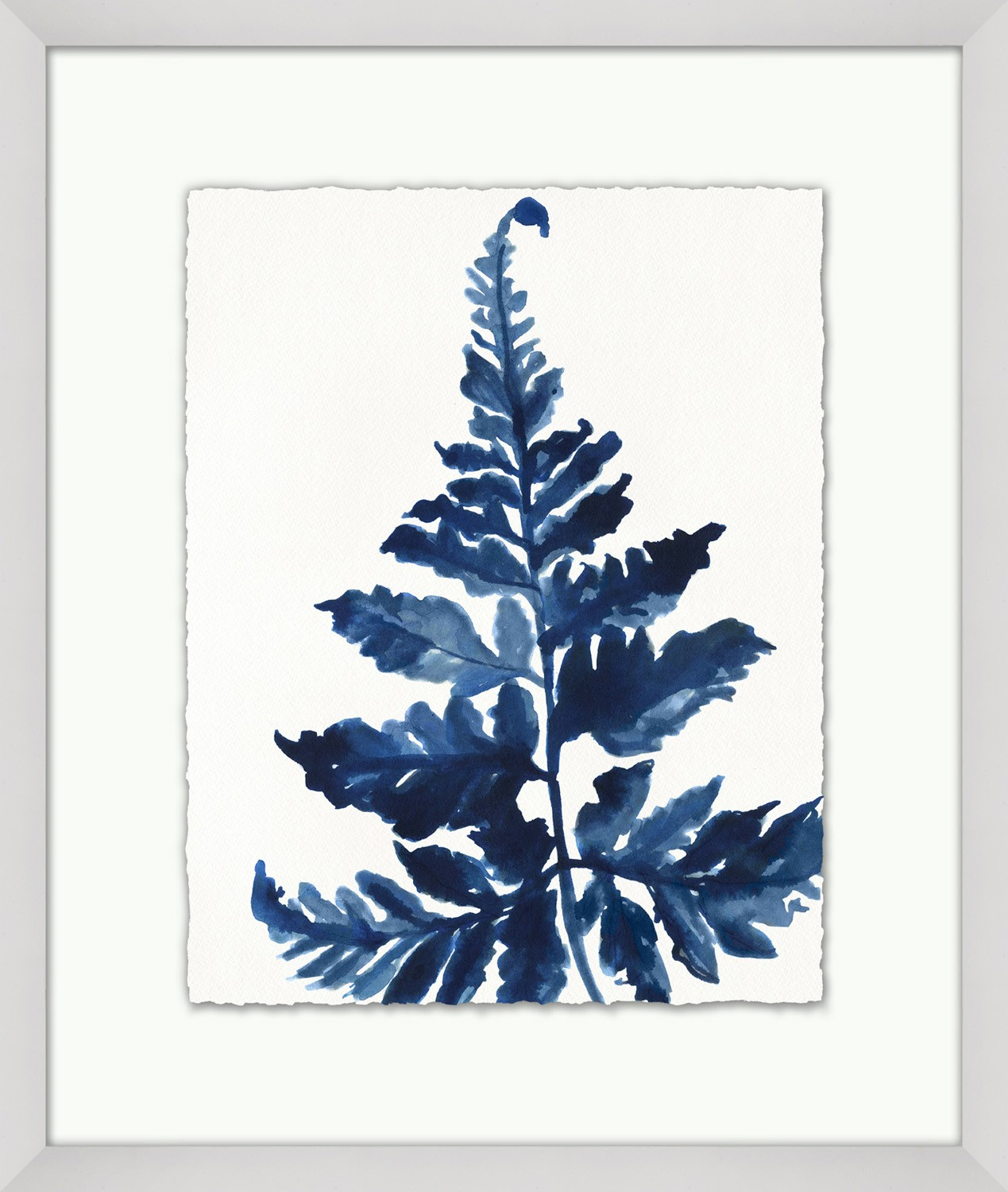 """Indigo Exotic Foliage 1"""