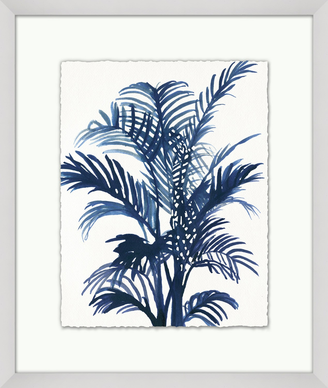 """Indigo Exotic Foliage 3"""