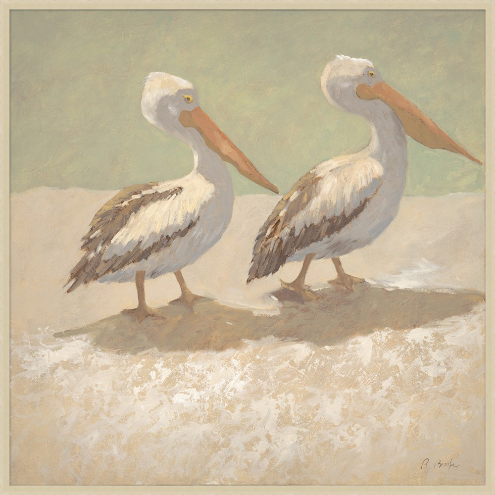 """Two Pelicans"""