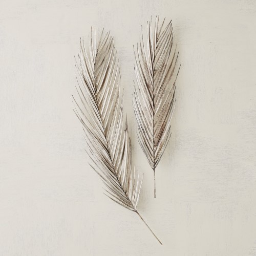 Palm Leaf – Antique Nickel, LG