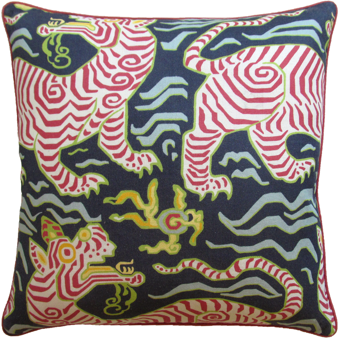 Tibet Navy Pillow