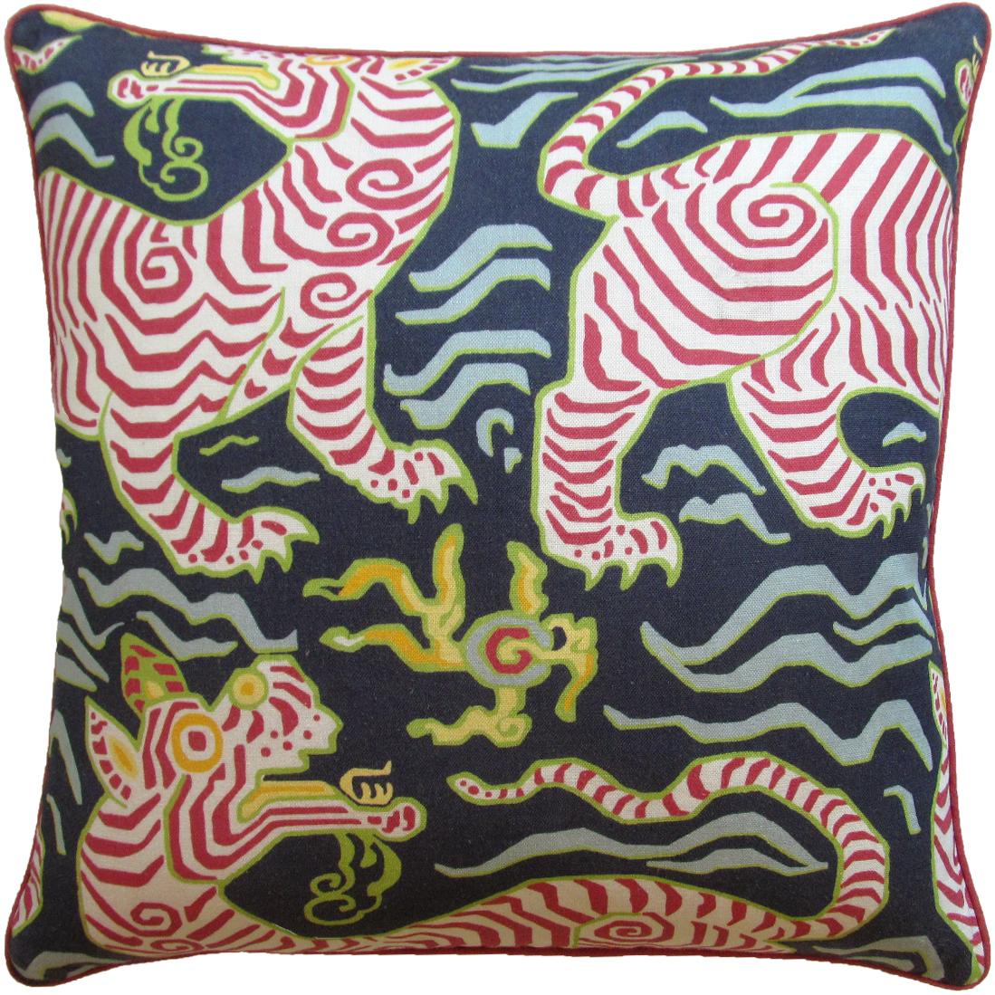 Tibet Navy Pillow