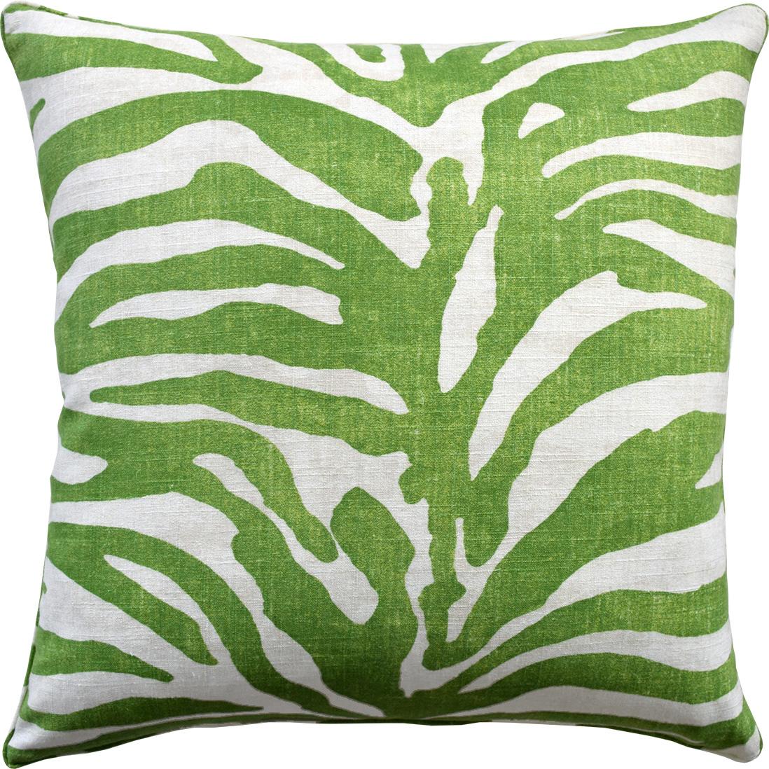 Serengeti Green Pillow