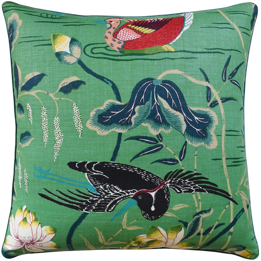 Lotus Garden Pillow