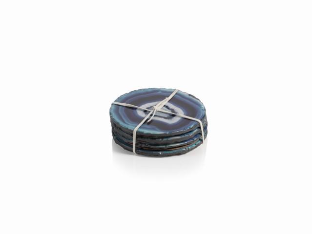 Azul Faux Agate Coasters-$38.00