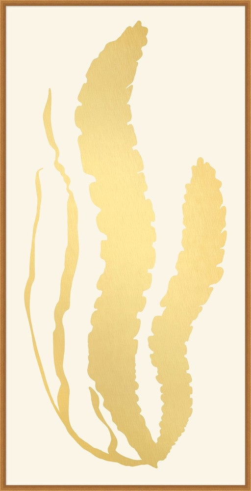 """Gold Leaf Sea Grass 2"""