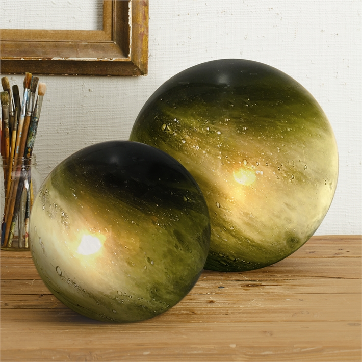 Green Galaxy Lamps