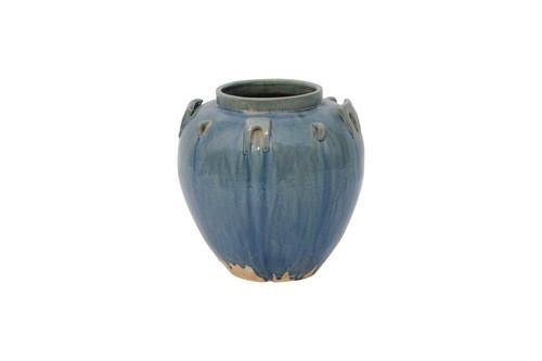 Vintage Blue Pot-$194.00