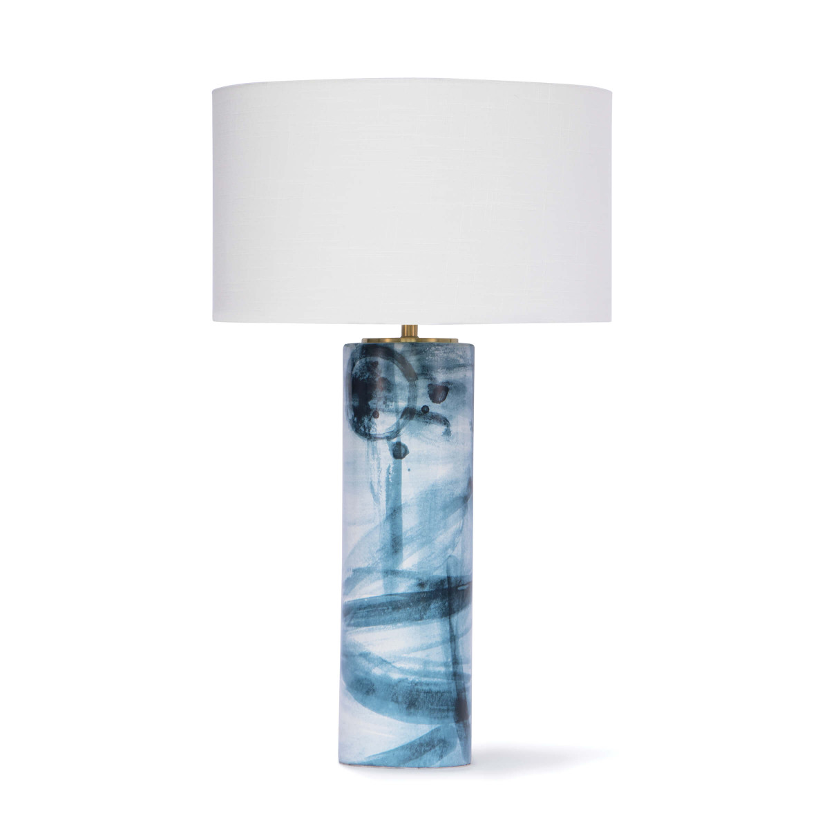 Blue Swirl Table Lamp-$445.00