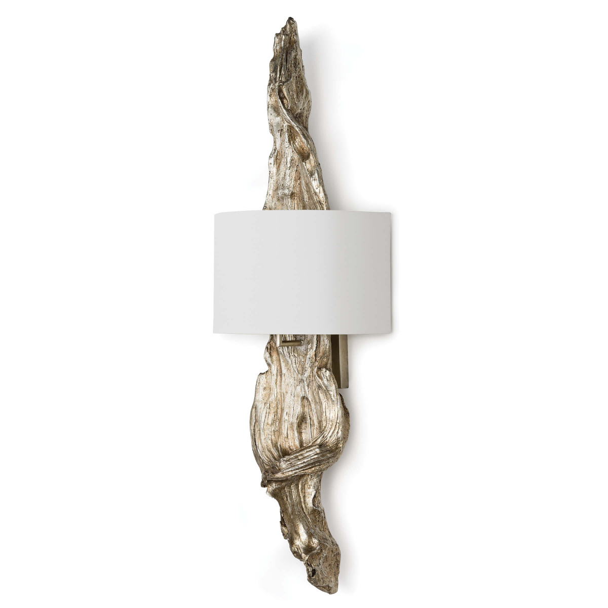 Ambered Silverleaf Sconce-$598.00