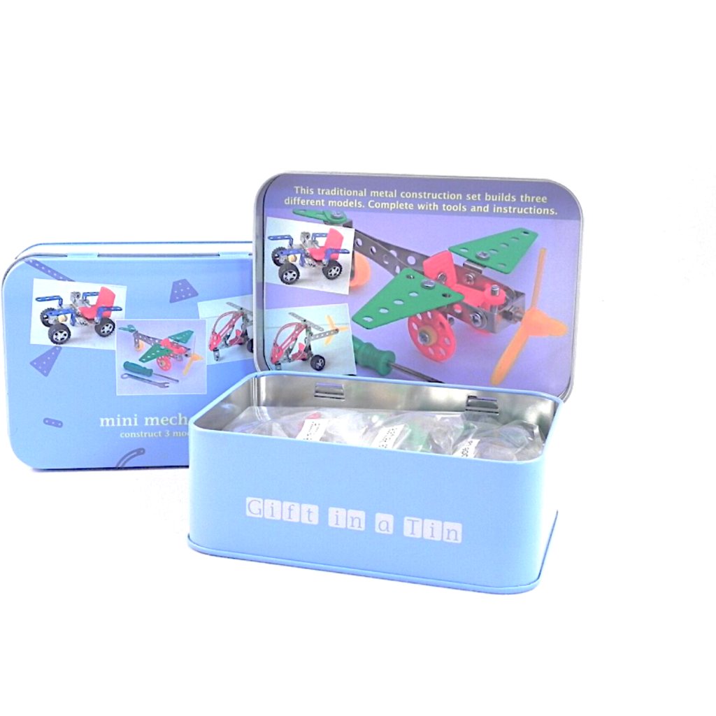 Mini Mechanic Kit in a Tin