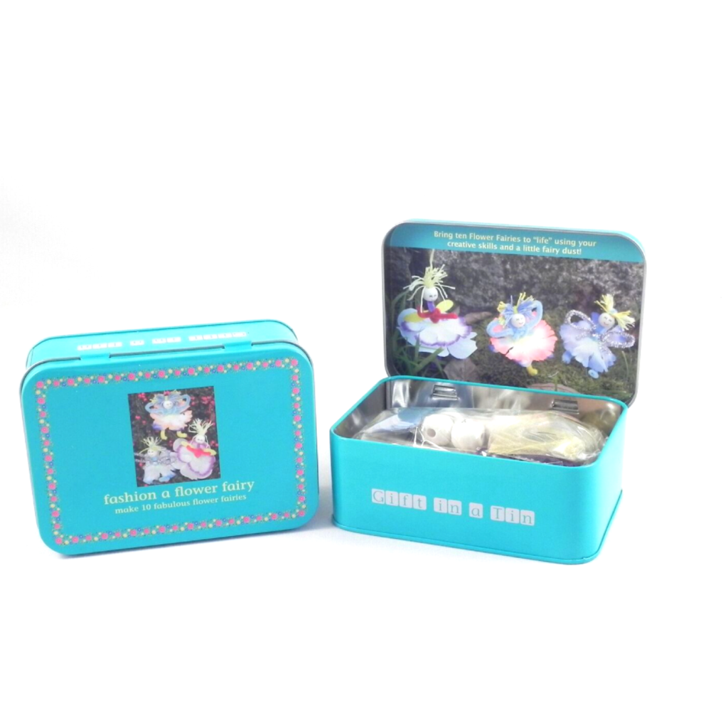 Fashion a Flower Fairy Kit in a Tin
