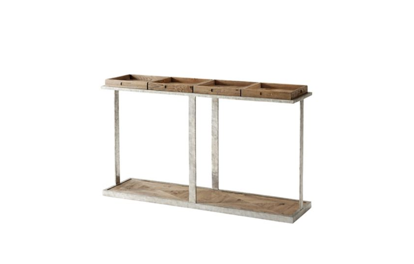 Trays Console Table