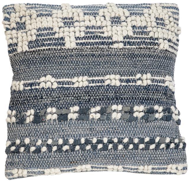 Blue/White pillow