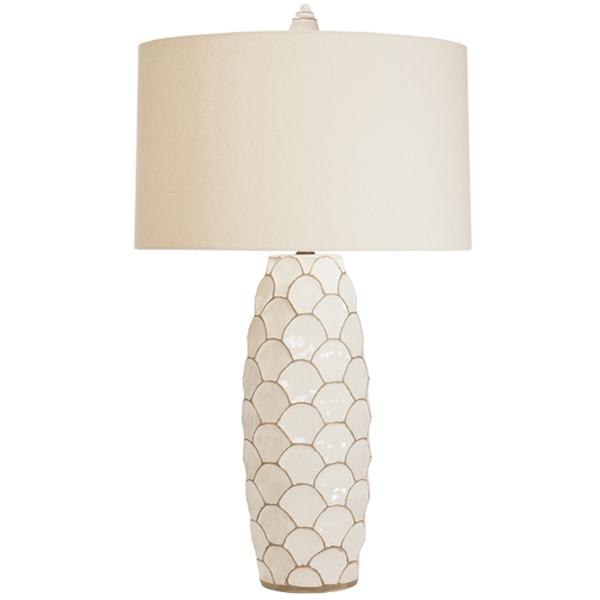 Ventana Cream Lamp