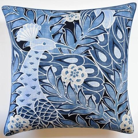 Desmond Pillow Navy-$260.00