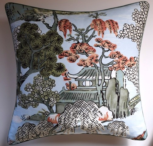 On The River Robins Egg Pillow-$285.00