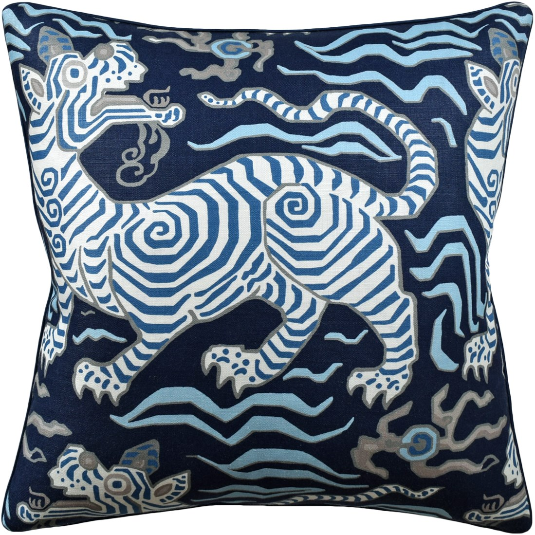 Big Cat Pillow Blues-$338.00