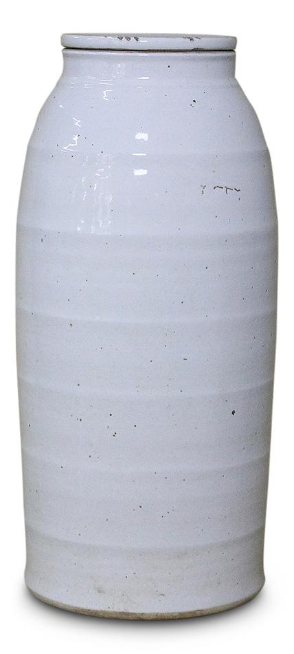 White Ceramic Milk Jug