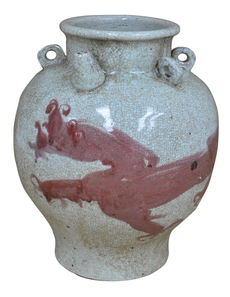 Red Dragon Jar-$325.00