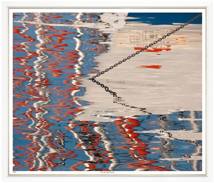 """Red and Blue Ripples"""
