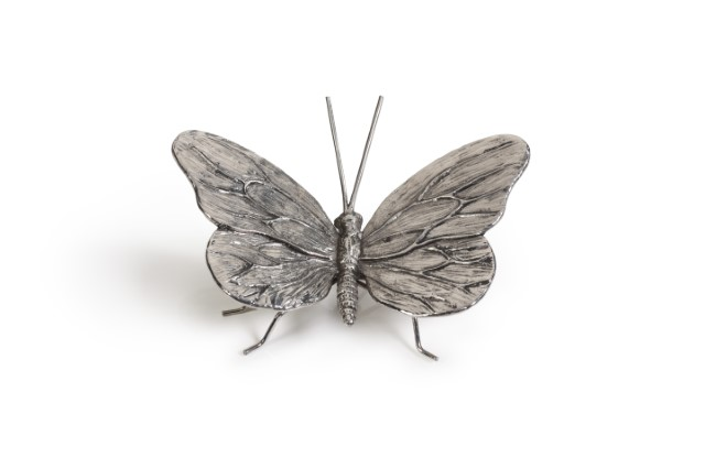 Decorative Antique Pewter Butterfly-$28.00