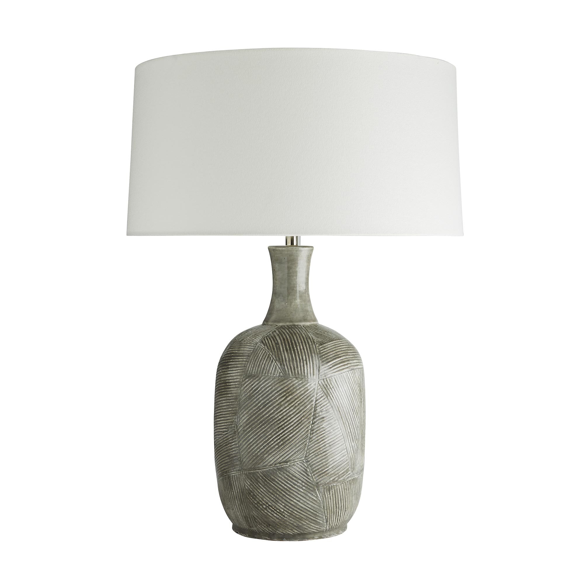 Hatched Grey Lamp-$625.00