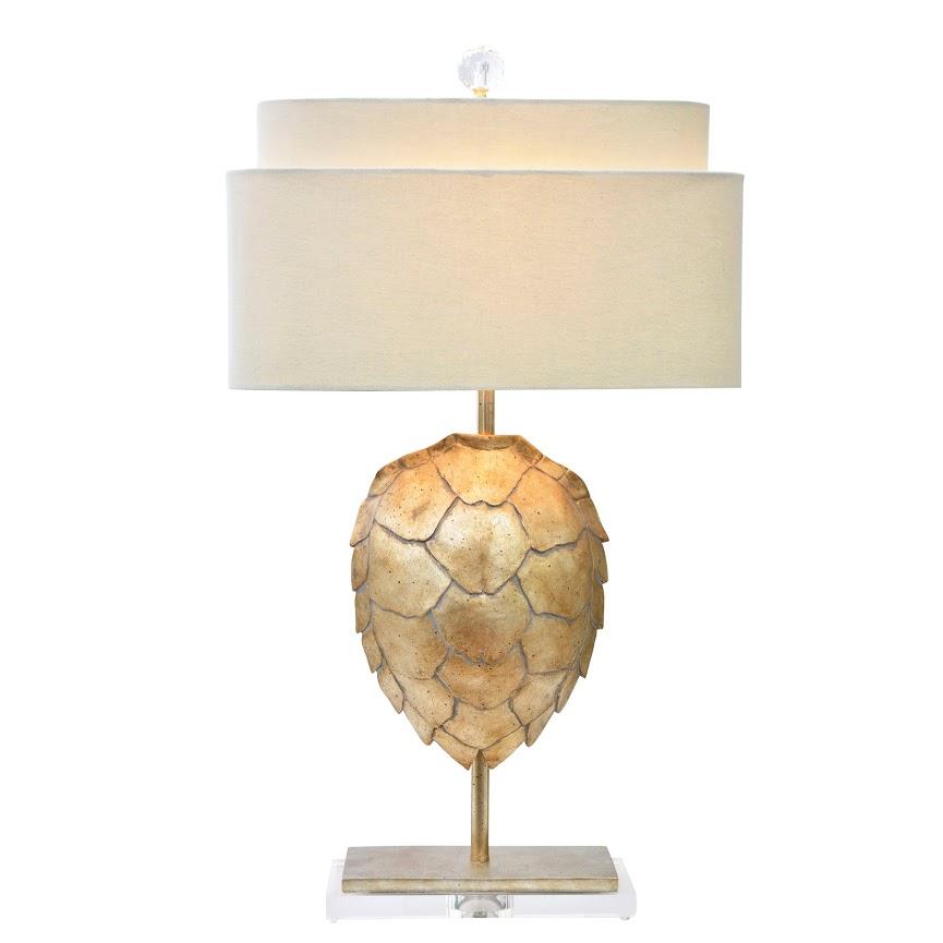 Tortoise Shell Lamp