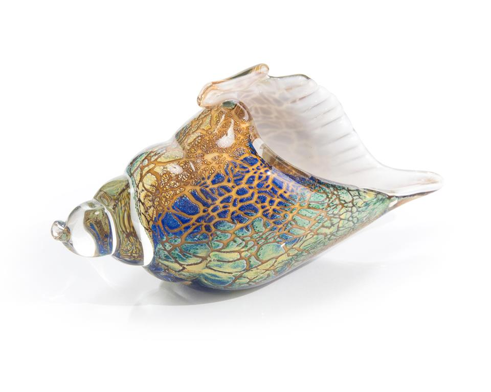 Ethereal Glass Conch Shell-$194.00