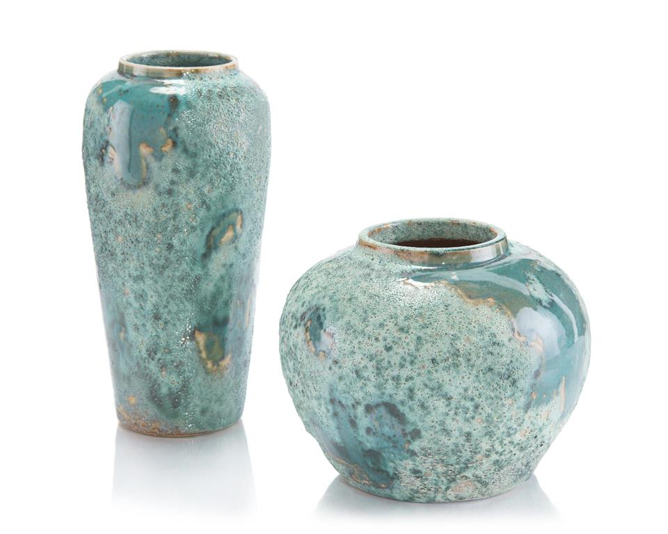 Sea-Foam Vases