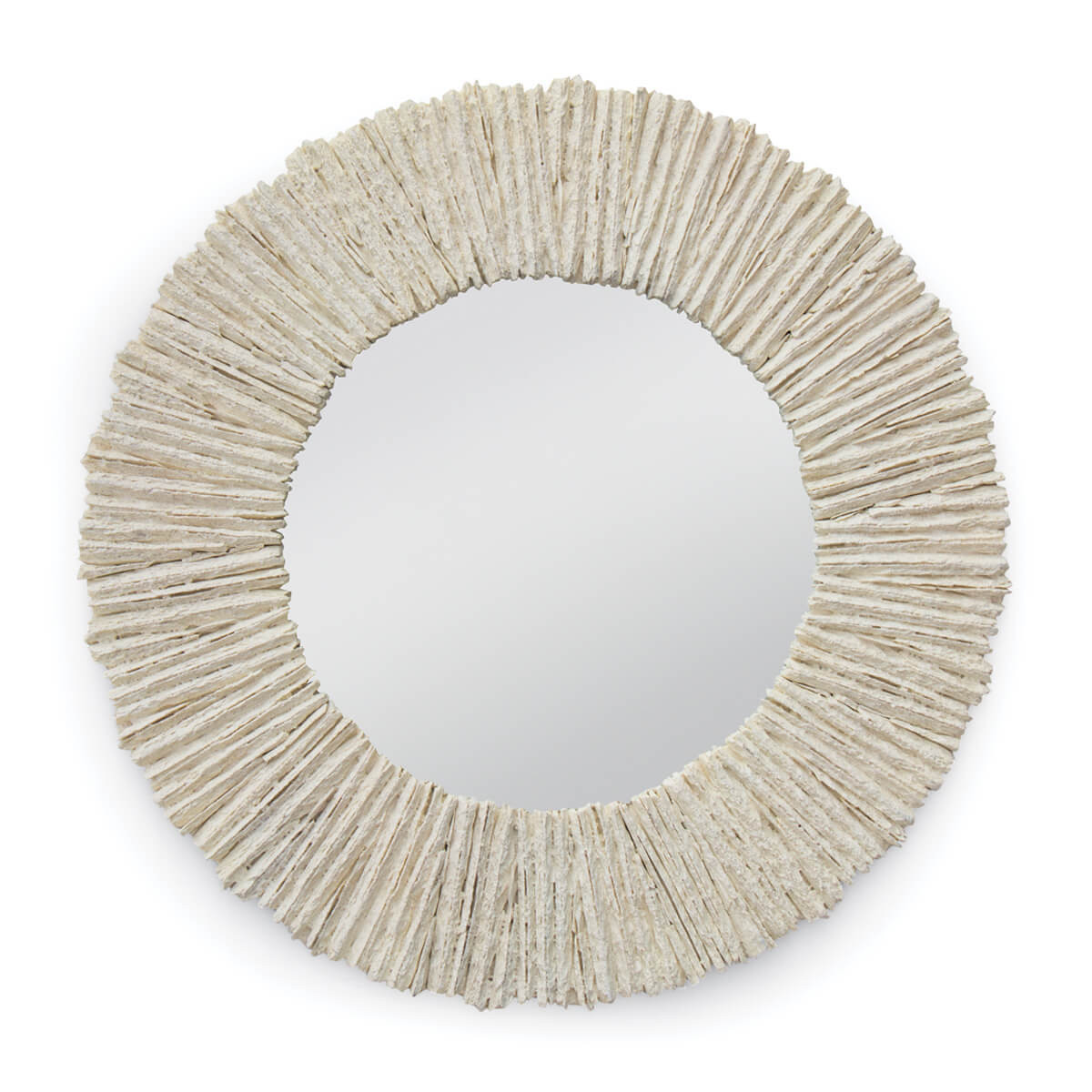 Ridges Mirror Round-$589.00