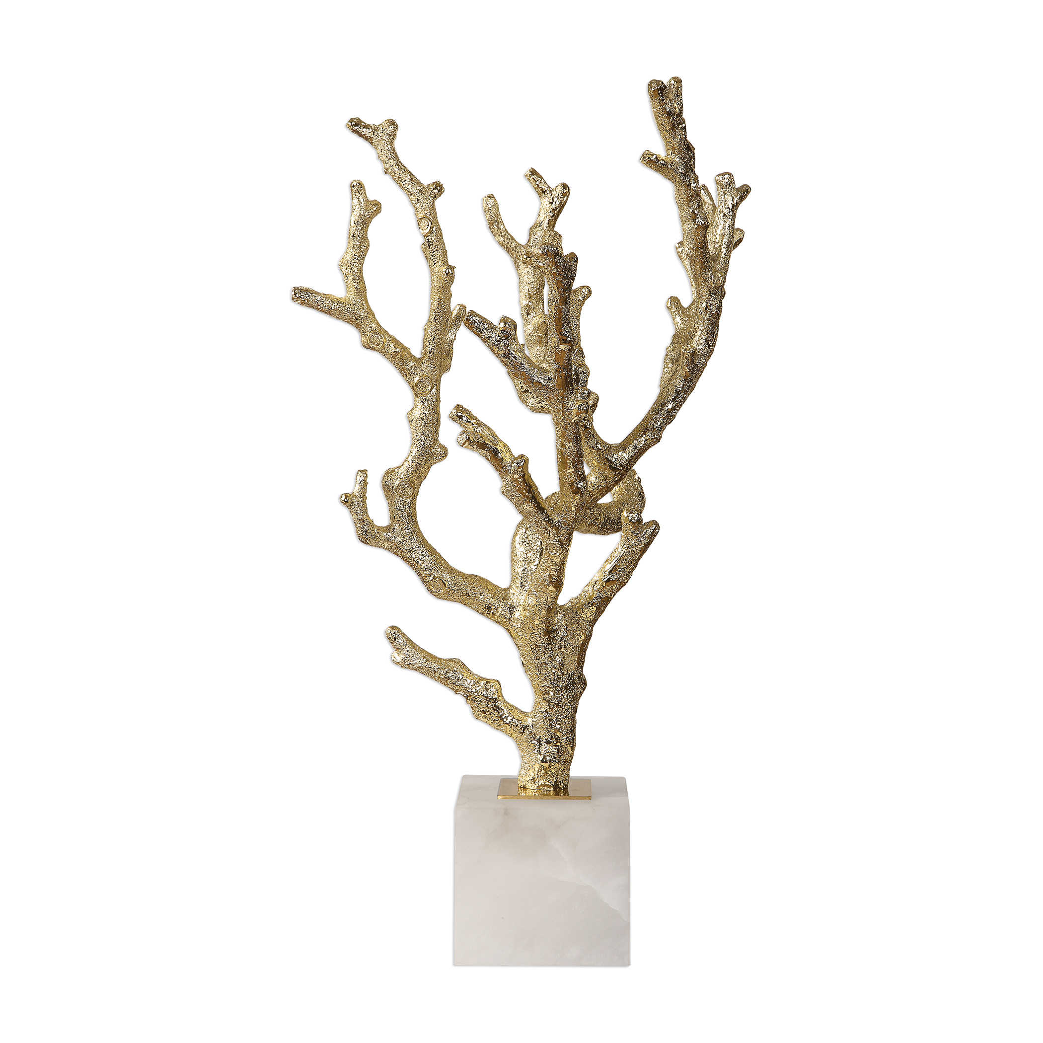 Silver Plated Coral Sculpture-$298.00