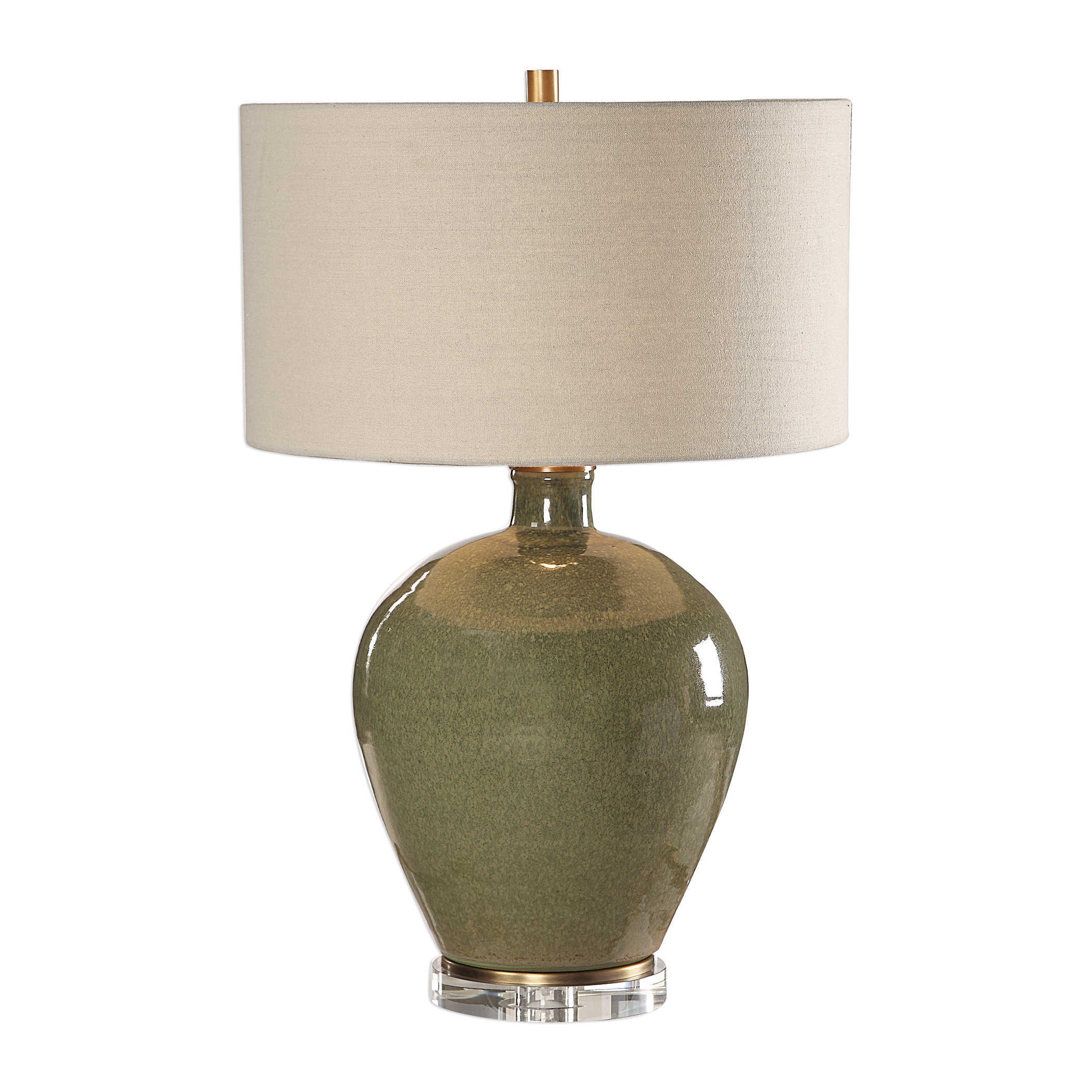 Emerald Ceramic Lamp-$445.00