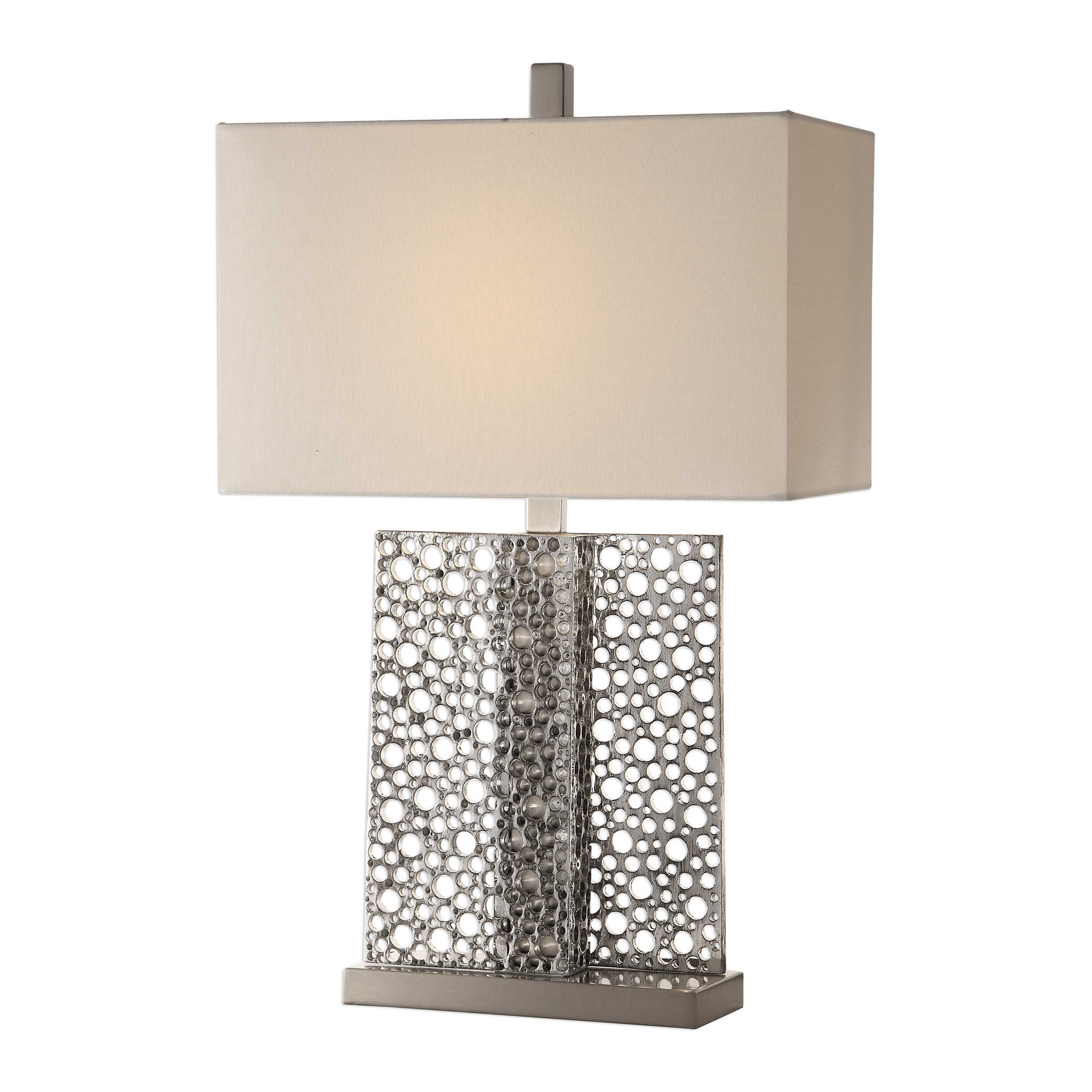 Metallic Holes Lamp-$345.00