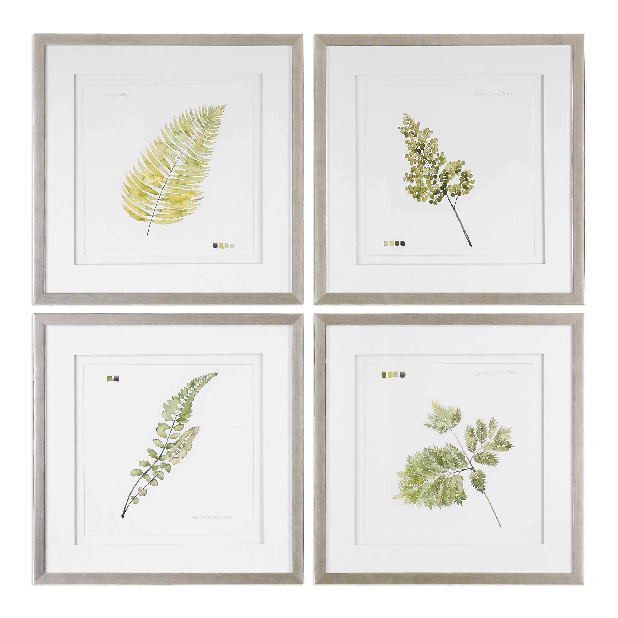 """Watercolor Leaf Study"""