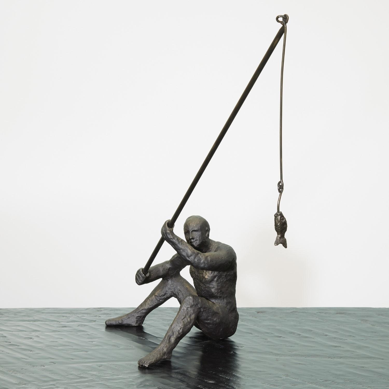 Reel It In Sculpture