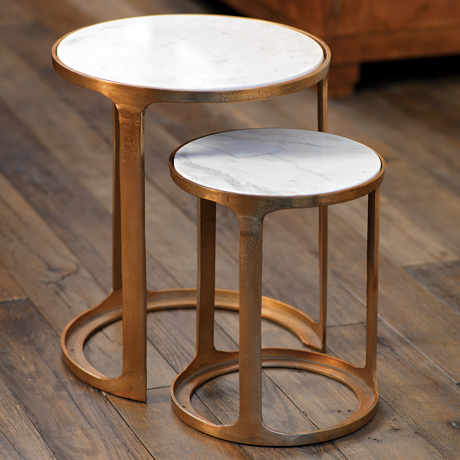 Nikki Round Nesting Tables